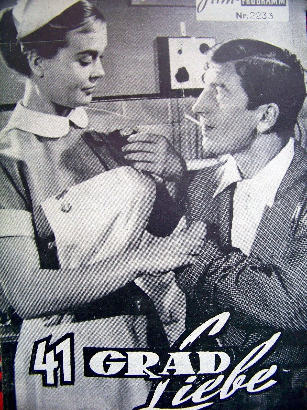 Shirley Eaton And Terence Longdon On The German Poster For Carry