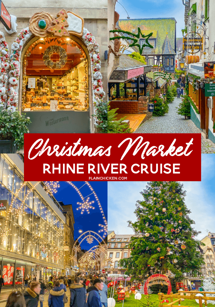 2020 Christmas River Cruises European Christmas Market River Cruise   review of AHI Travel's