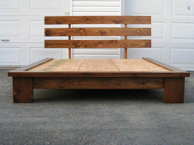 Lit En Bois Massif Neuf Lits Matelas Sherbrooke Kijiji Decor Rustic Dresser Reclaimed Wood Dining Table