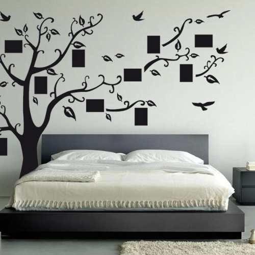 Vinilos decorativo arbol genealogico para toda la familia for Disenos para decorar paredes de dormitorios