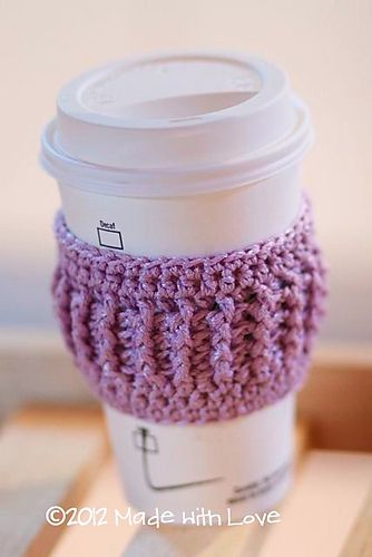 Coffee Cozy Easy Enough To Make A Few To Stash In Each Car