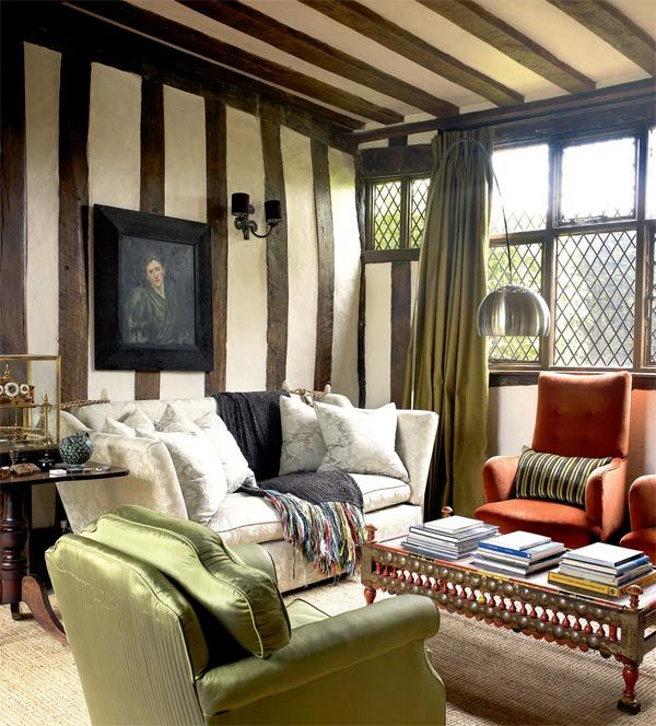 Traditional English Country Cottage With Authentic Beams