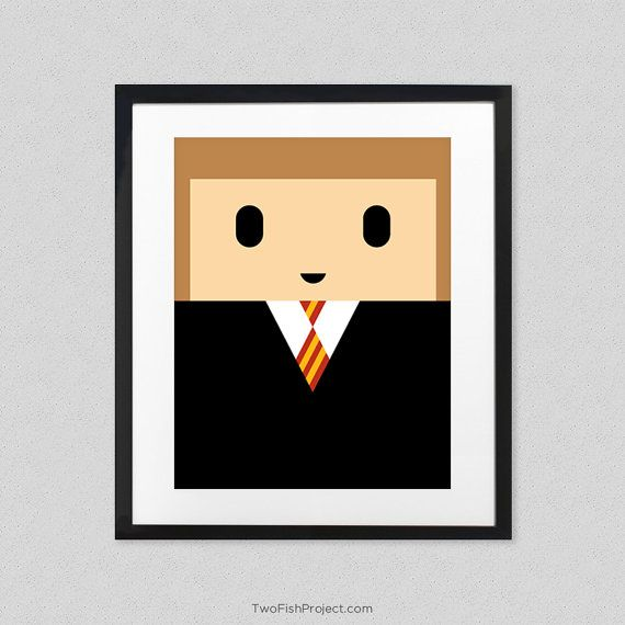 Hermione Granger Poster for Kids Room or Nursery - Cute ...