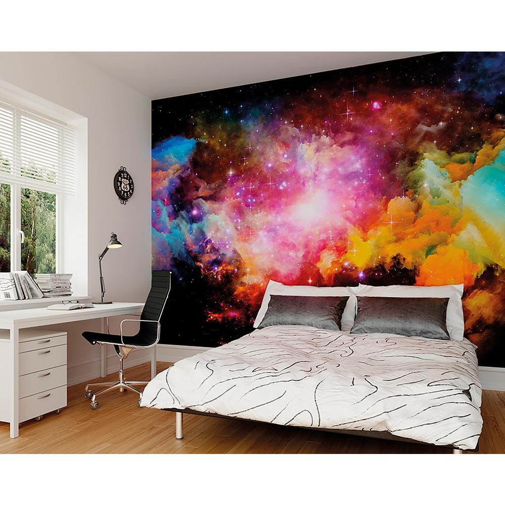 Brewster Galaxy Stars Wall Mural WALS0248 in 2019 Wall