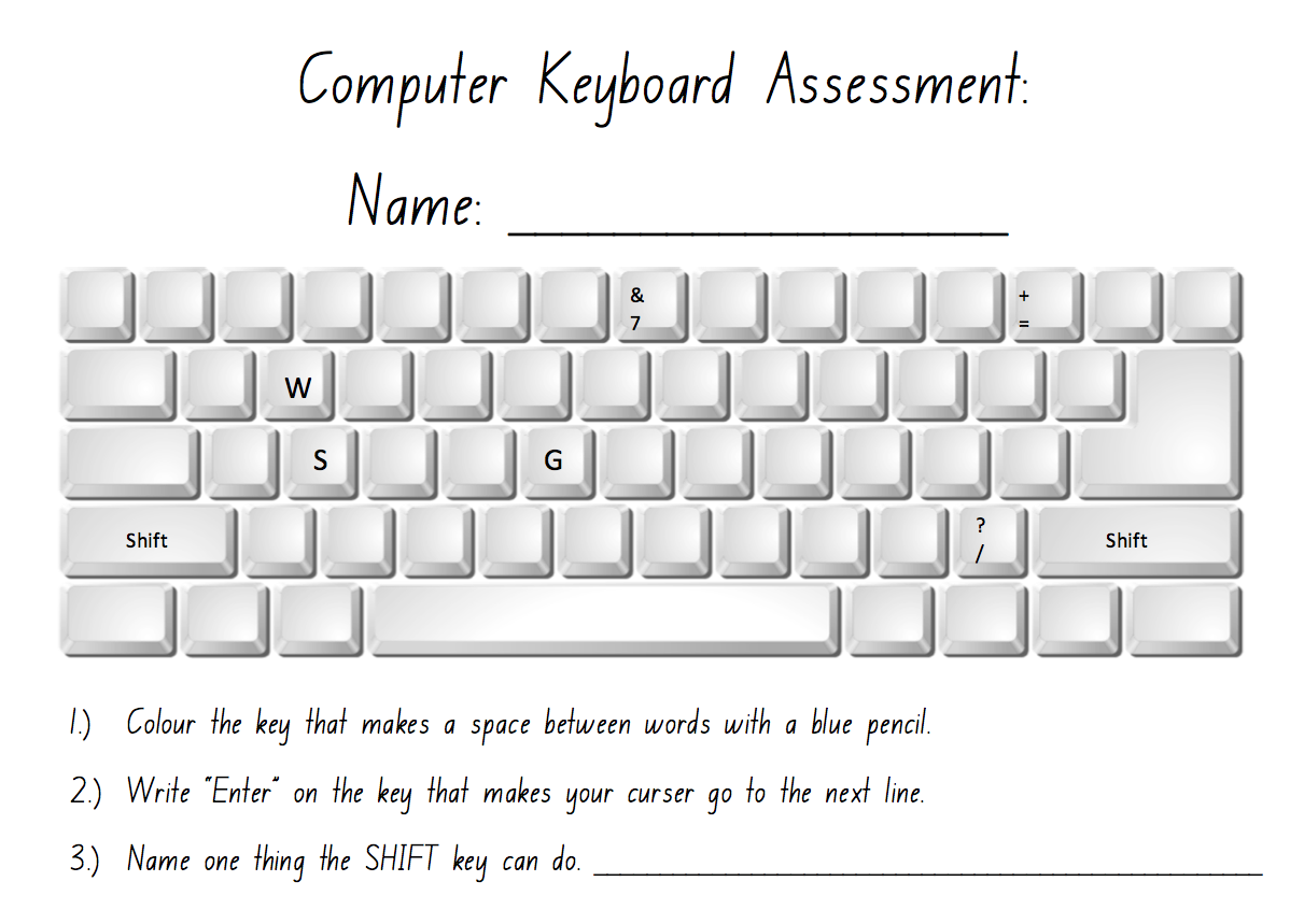 Computer Keyboard Assessment By Jeanine Cullen