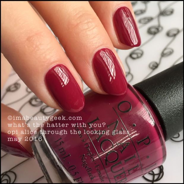 OPI What\'s the Hatter With You? – OPI Alice Through the Looking ...