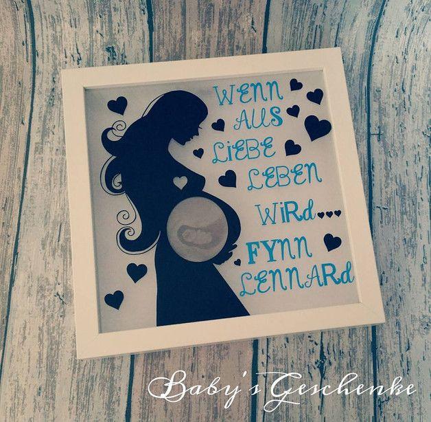 LED Schriftzug GIRL Holz weiß Mädchen beleuchtet Geburt Geschenkidee Baby-Party