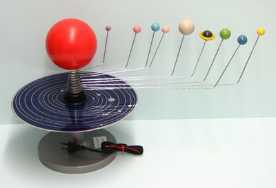 solar system lesson model of - photo #39