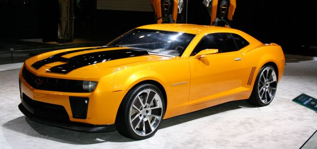 Awesome Chevy Camaro Transformer Edition Camaro Transformers