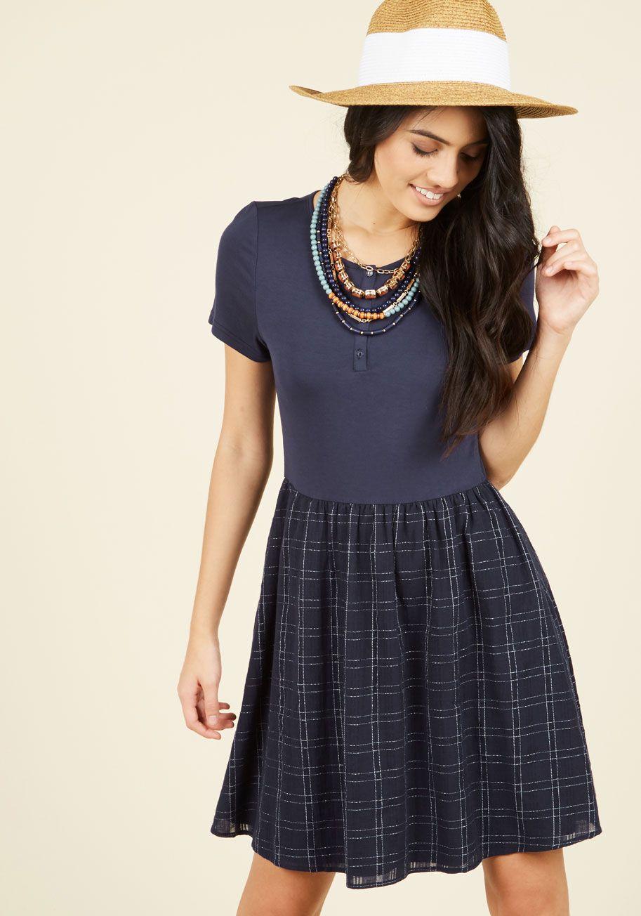You're Gonna Hear Me Rural A-Line Dress | Mod Retro Vintage Dresses | ModCloth.com