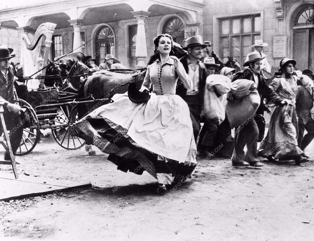 Vivian Leigh Civil War scene Gone With the Wind 25231