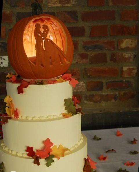 22 lustige Kürbis Hochzeitstorte Ideen für den Herbst   – Ideas for Brittany's Wedding