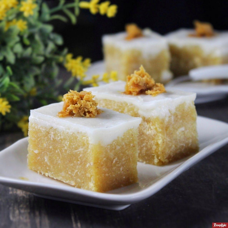 Kue Talam Singkong Gula Merah Lembut Praktis Resep Resepkoki Resep Kue Resep Memanggang Kue