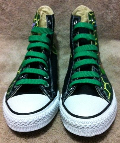 b952681574a3 Teenage Mutant Ninja Turtles custom Converse by KivadenoCustoms ...