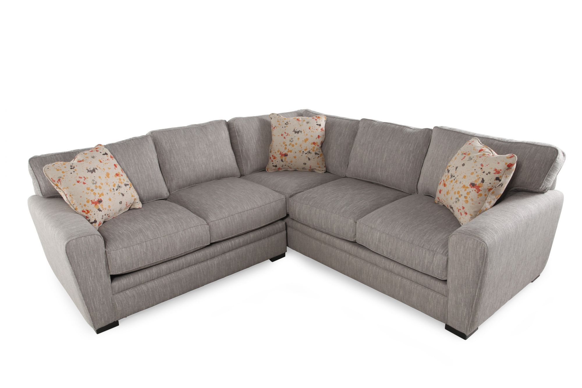 Fog - Jonathan Louis Artemis Two-Piece Sectional  Mathis Brothers