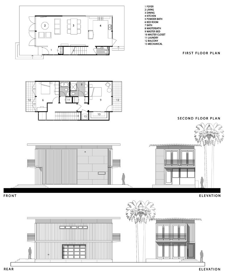 The Container Home  Kara 1512 Plans