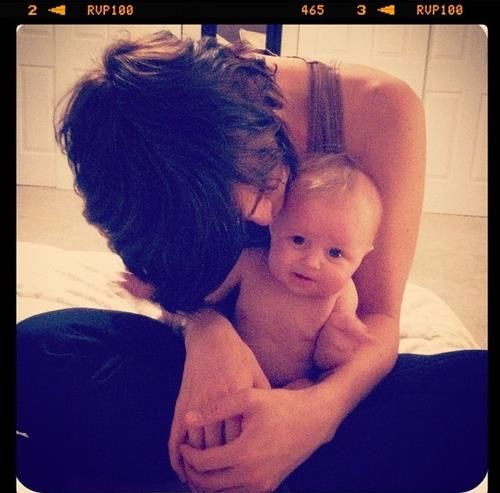 kellin quinn and baby copeland  she's one of the cutest