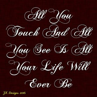 Mijn T-shirt-prints: All You Touch