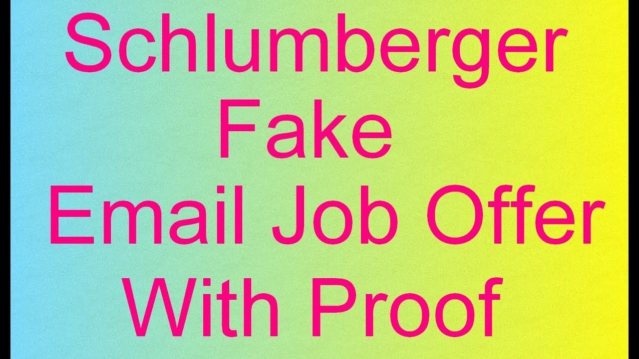 Schlumberger Interview Questions - Why Schlumberger? - Fake