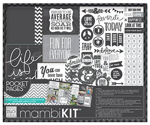 me  my BIG ideas Boxed Album Kit Life is Good 12Inch by 12Inch *** Click on the image for additional details.Note:It is affiliate link to Amazon.