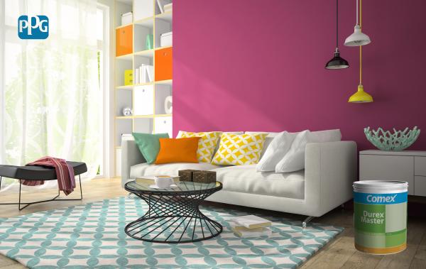 Antes de aplicar Durex Master, verifica que la pared no esté en contacto con pisos de tierra suelta ni humedad.  #ProductosComex #Home #Ideas #Deco #DIY #Comex #Livingroom