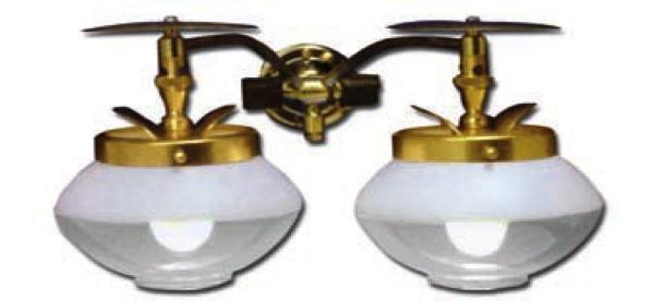Propane Lights Double Wall