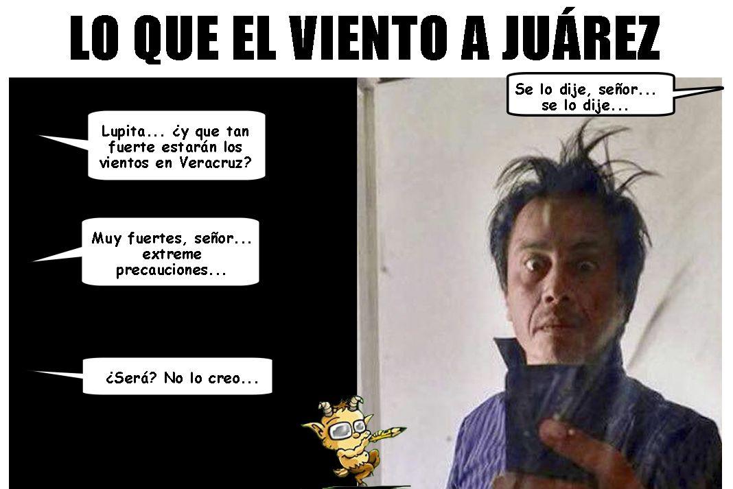 El Frente Frio En Veracruz Con Todo Y Sus Vientos Con Cuitlahuac Garcia Jimenez Viento Memes Veracruz