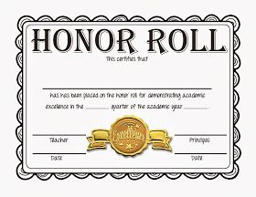 Steves classroom new freebie honor roll certificates gold honor roll certificates gold silver and bronze yadclub Gallery