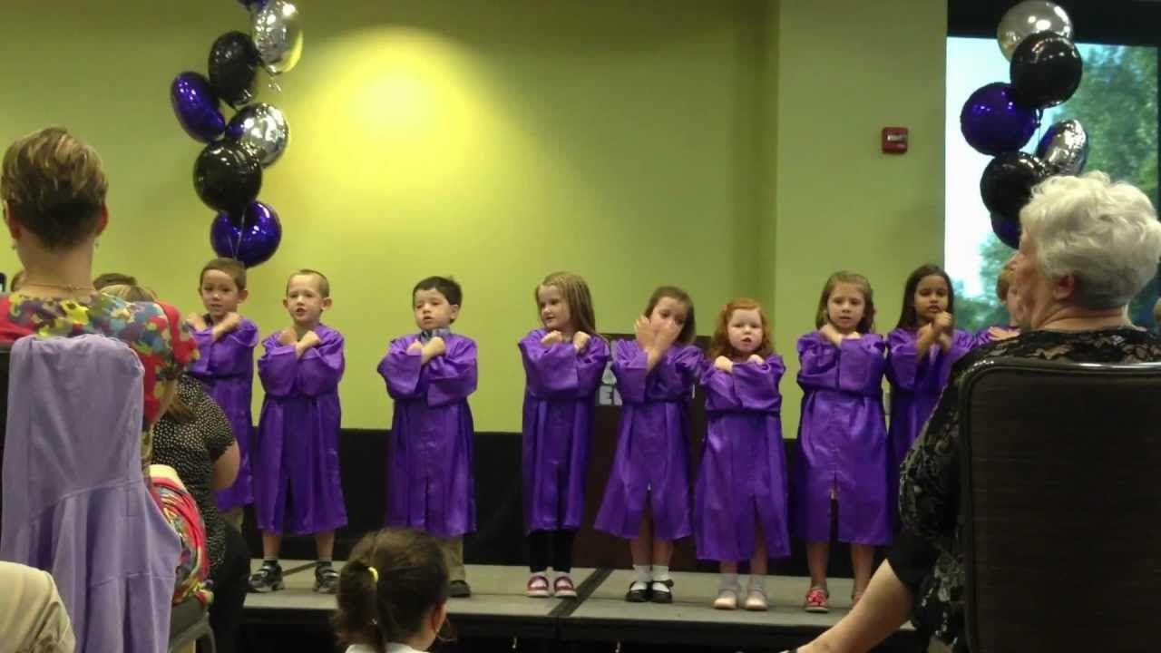 We Re Moving Up To Kindergarten Preschool Graduation Songs