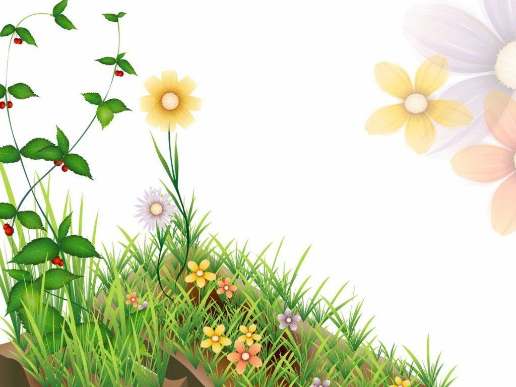 Flower clip art free of the above clip art borders is for Garden flower borders designs