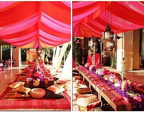 Decoration mariage bollywood indien