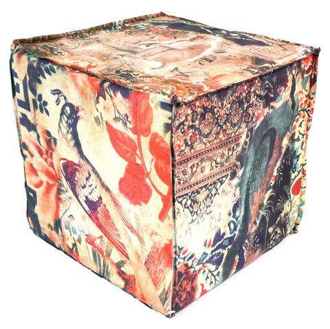 poetic wanderlust by tracy porter  - poufs & ottomans  handmade in california