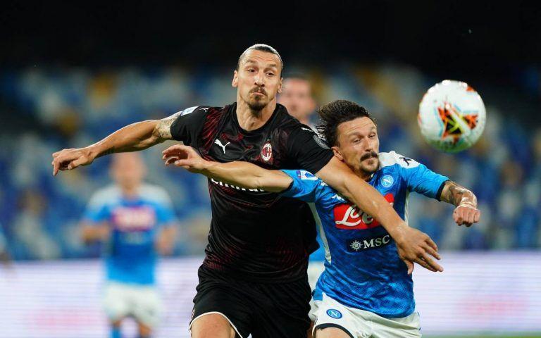 Napoli Vs Ac Milan As It Happened Ac Milan Napoli Milan
