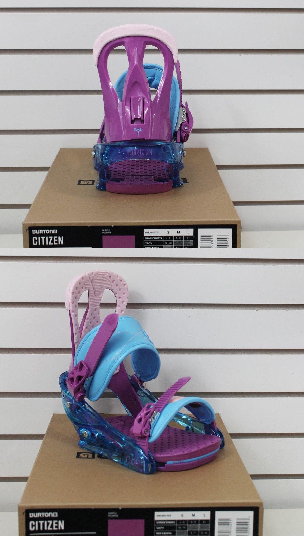 Bindings 21248: New 2016 Burton Citizen Womens Snowboard Bindings Medium Nurple -> BUY IT NOW ONLY: $104.96 on eBay!