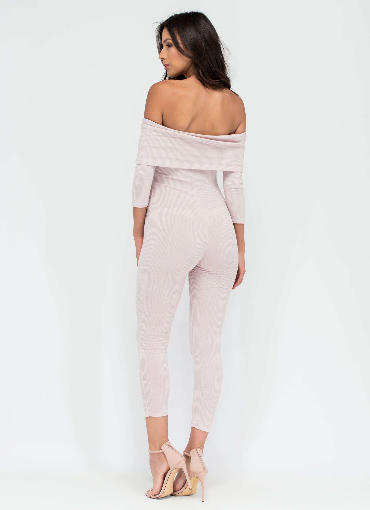 Major News Ribbed Jumpsuit GoJane.com | Fashion put it all on me ...