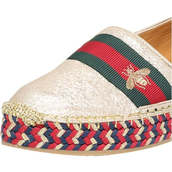 C1OlJBmYCa Pilar Bee Embroidery leather Espadrilles Hnk6FDhC