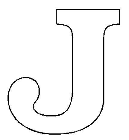 Alphabet Numbers Block Patterns Letter J Super Coloring Pages Lettering