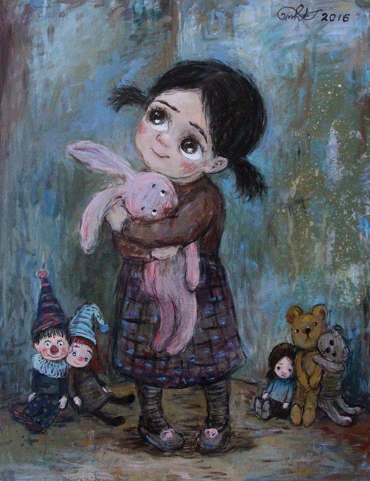 De-a joaca   Иллюстрации, Милые рисунки, Картины