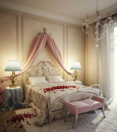 20 Romantic Bedroom Ideas: 20 Ideas For More Romance In The Bedroom For Valentines