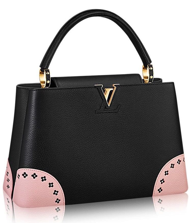 4fdce5a0ee LV | Pink and Black Hand Bag Stylish Handbags, Fashion Handbags, Fashion  Bags,