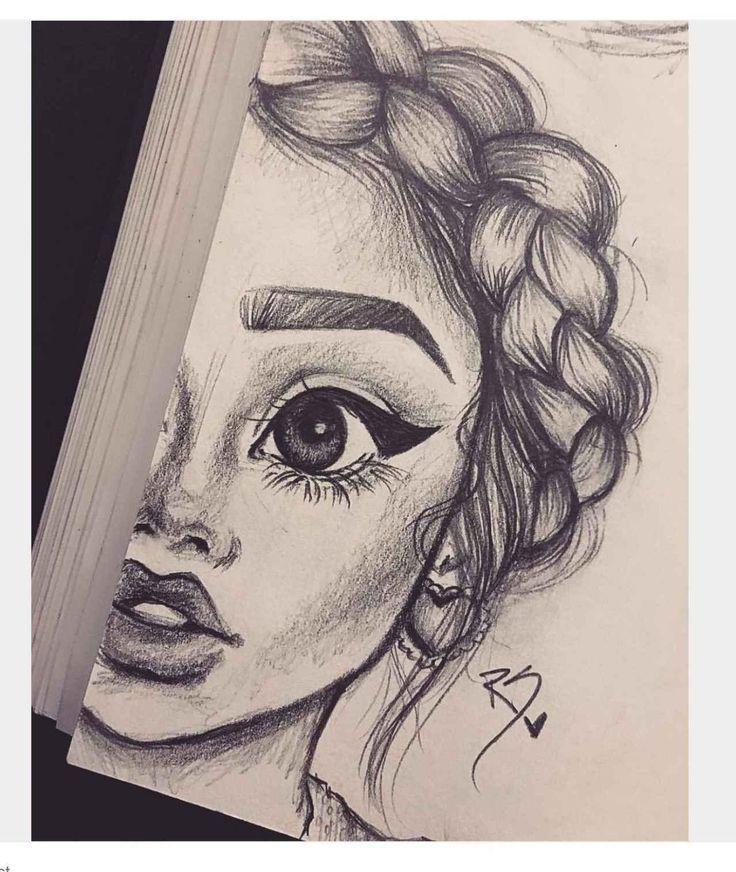 Zeichnen Ideen Leicht Bilder Designfan In Schone Bilder Zum Nachzeichnen Bilder Designfan Drawing Ideen Le Art Sketches Girl Drawing Sketches Sketches