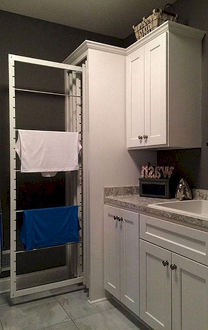 38 awesome small laundry room decor ideas for your house