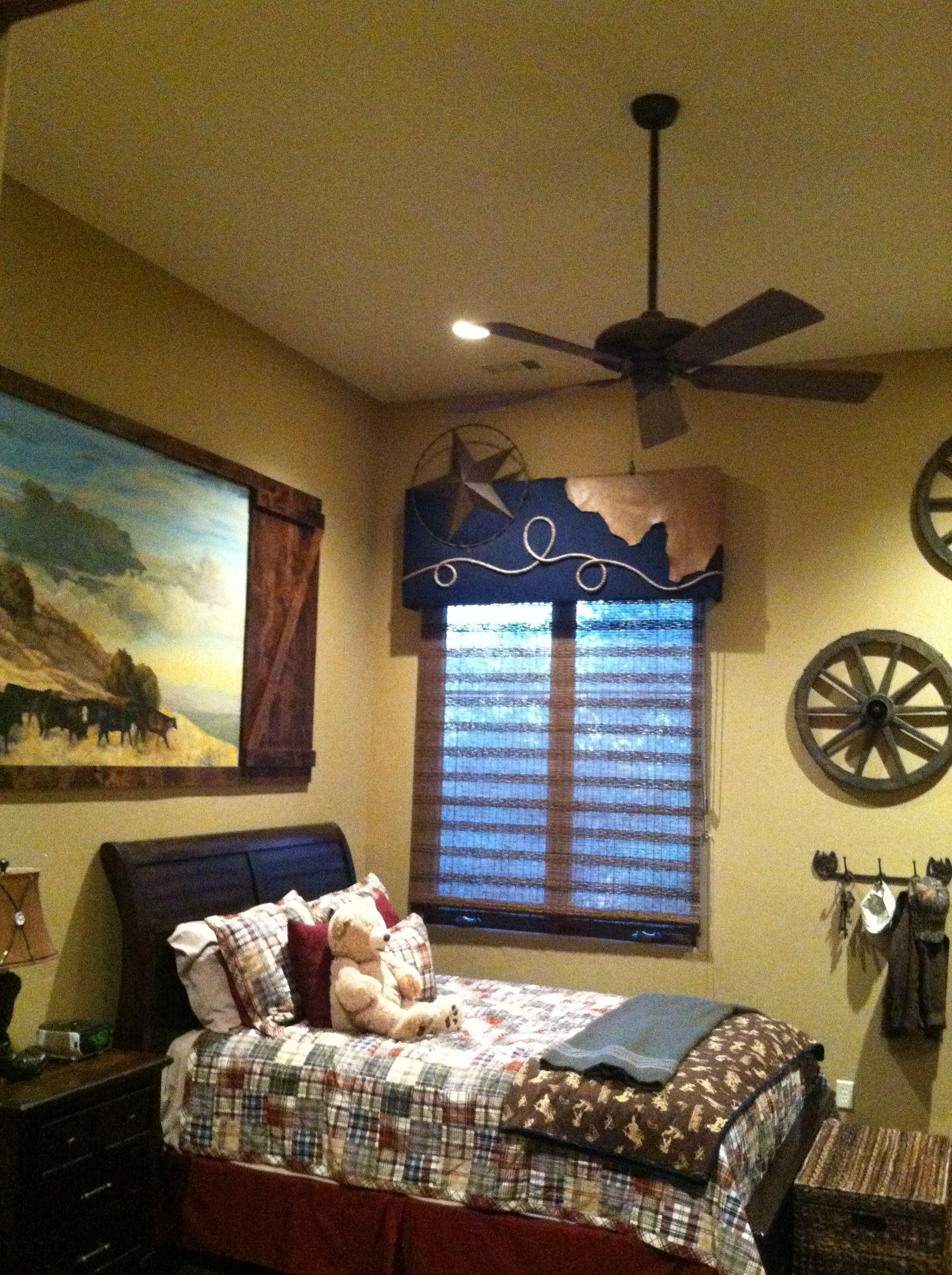 Boy's Western Room Western rooms, Cowboy bedroom