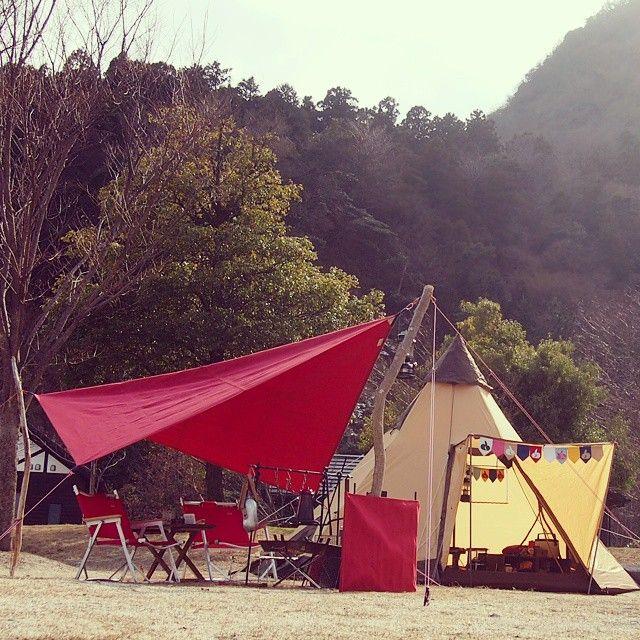 タープを自作 6ステップでオリジナルティをとことん追求せよ Camp Hack キャンプハック キャンプ タープ ステップ