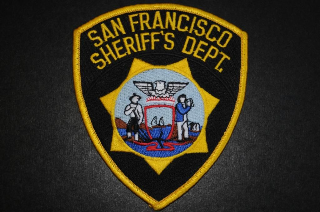 Shoulder Patch new from 1996 California San Francisco Police