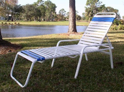 Regatta Style Patio Aluminum Vinyl Strap Furniture Sets Chaise Lounge Double Wred 2 Patiofurniture