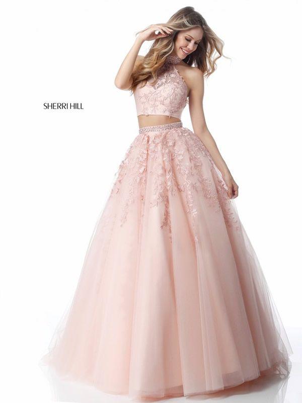 Vestidos de quinceañera rosa modernos Sherri Hill | 15 Vale ...