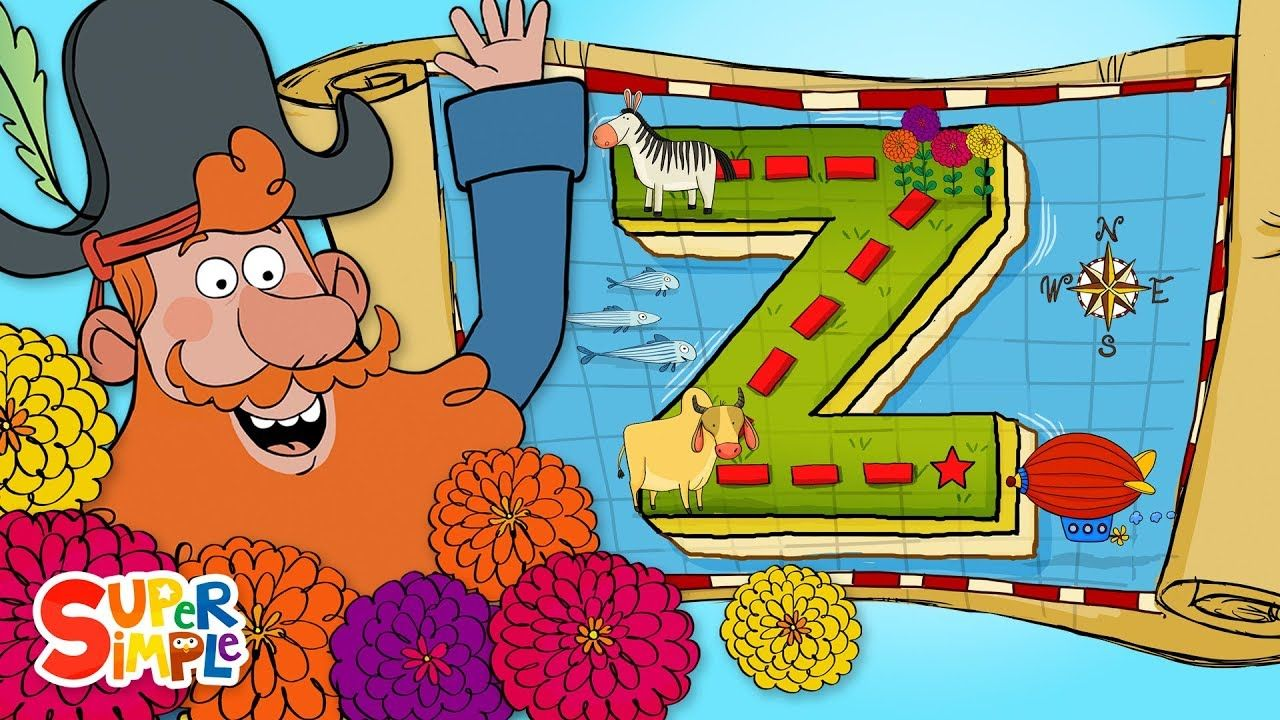Captain Seasalt and the ABC Pirates go on a Zany Adventure