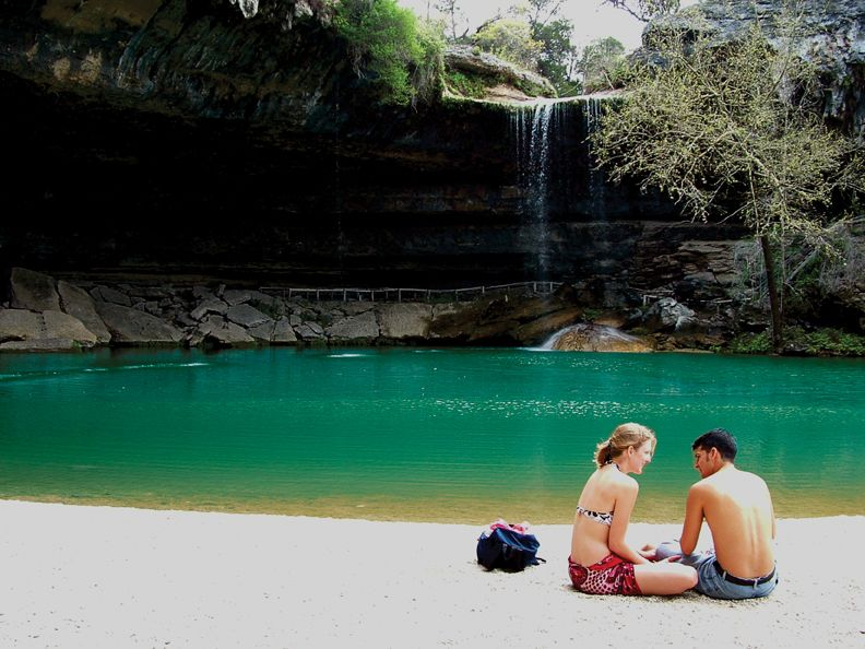 Hamilton Pool Nature Preserve (Dripping Springs, 37 miles on Highway 71 west of Austin, Texas)