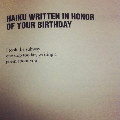 birthday haiku birthday haiku | Expression through poetry | Pinterest | Haiku  birthday haiku